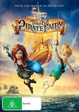 Tinker Bell And The Pirate Fairy (DVD, 2014) New & Sealed - Region 4 {Disney}