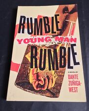 Rumble Young Man Rumble by Dante Zúñiga-West Very Rare 1st Printing Paperback