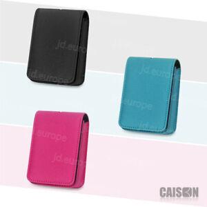 Leather Camera Case Bag For SONY CyberShot DSC W810 W830 W800 WX350 Canon NIKON