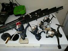 assorted fishing rods reels combo spinning