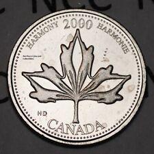 Canada 2000 June Harmony 25 cents UNC Millenium Series Canadian Quarter