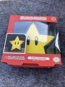 Paladone Super Mario Super Star Light/Lamp That Plays Mario Star Music.