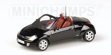 Ford Street KA 2003 Open Black 1:43 Model 400086431 MINICHAMPS