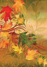 """""""Autumn Aria"""" 12.5"""" x 18"""" Fall Garden Flag by Toland"""