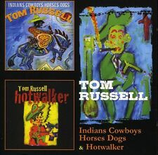Tom Russell - Indians Cowboys Horses Dogs / Hotwalker [New CD] UK - Import