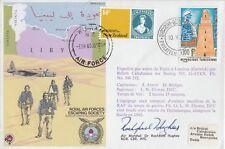 ES23c Escape from Libya Signed Air Marshal Hughes Evader
