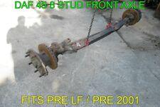 DAF 45 8 STUD FRONT AXLE - PRE LF / PRE 2001