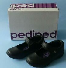 PEDIPED BAILEY BLACK LEATHER CHILDRENS GIRLS SHOES SIZE 8 - 8.5 EU 26 NEW IN BOX