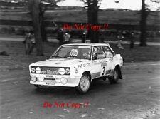 Walter Rohrl ALITALIA FIAT 131 ABARTH RAC Rally 1979 fotografia 2