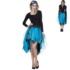 Petticoat Tulle Skirt Tournüre Mermaid Mermaid Blue Turquoise Women's Costume