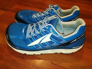 Altra Provision 3.0 Mens Running Shoes Blue Silver Natural Foot Shape Size 9.5