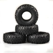 1.9 Off-road Rock race cars Crawler Rubber Tires 4Pcs 110mm F 1:10 RC Car Truck