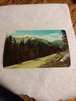 U.S 40 on Berthoud Pass over the Continental Divide in Colorado giant post card