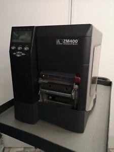 Etichettatrice Zebra ZM400 200DPI buone condizioni funzionante + spellicolatore