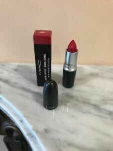 Authentic M·A·C Lustre Lipstick Rouge a Levres #502 COCKNEY Full Size NIB