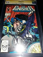 Punisher #13 CGC SS 9.6 (NM+) - 1988 - signed by Wilce Portacio cover artist