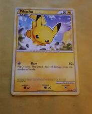 POKEMON TCG - HGSS UNDAUNTED EXPANSION - PIKACHU 61/90
