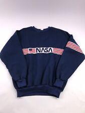 Vintage Nasa sweatshirt size L/XL Flag Space