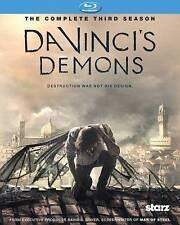 DA VINCI`S DEMONS: SEASON 3...-DA VINCI`S DEMONS: SEASON 3 (3PC) / ( Blu-Ray NEW