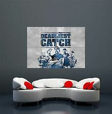 THE DEADLIEST CATCH TELEVISION SHOW FISHING GIANT POSTER ART PRINT X2916