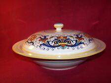 Deruta ~ Ceramiche ~ Beautiful Extra Large Covered Multi-Purpose Serving Bowl