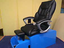 Pedicure chair with massage  NO plumbing needed & FOOTSIE tub +10 liners