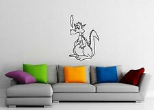 Wall Stickers Vinyl Decal Funny Dragon Fantasy For Children Nursery ig1643