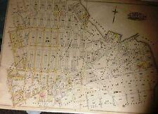 1898 GREENPOINT - ENGLISH HILL, BROOKLYN, NEW YORK HOPKINS ATLAS MAP 22X30