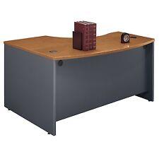 Bush Series C 60-Inch Right-Hand L-Bow Desk  in Natural Cherry