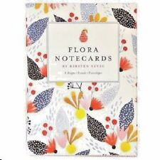 Flora Notecards Set, NEW