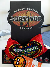 Survivor Buffs South Pacific Red Savaii Tribe Buff MINT