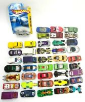 MIXED LOT OF 42 ALL HOT WHEELS CARS VANS TRUCKS MATTEL