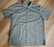 La Police Gear Ccw Shirt Button Up Green Casual Concealed Carry Mens Size Large