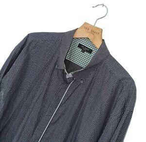 Men's LONDON by TED BAKER Premium Vintage Check Pattern Shirt Size 7 XXL *VGC*