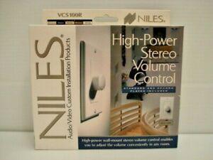 BRAND NEW, BONE, NILES HIGH POWER STEREO VOLUME CONTROL VCS100R