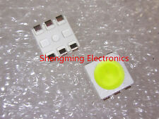 100pcs 5050 White SMT LED PLCC-6 3-CHIPS 5050 smd led Mid-power