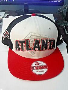 BRAND NEW! ATLANTA FALCONS 9/FIFTY NEW ERA EMBROIDERED MULTI EMBLEM CAP HAT! NFL