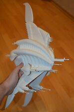 Babylon 5 Model Sharlin Minbari Warcruiser. Scale 1:4100. Unpainted. Assembled