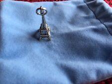 Sterling Silver Ciondolo Torre Eiffel