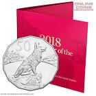 2018 Royal Australian Mint Tetra-Decagon Unc 50c Coin Lunar Year of the Dog