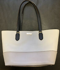 Kate Spade Medium Dally Laurel Way TOTE Two Tone White Rose Pre-owned