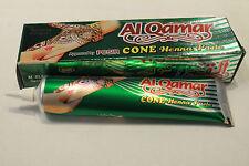 Al Qamar Top Quality Henna Mehndi Hand Body Art Tattoo Past Cone Tube