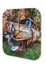 Conception Garage De Horloge murale  coloré rouillé arbre de jardin de voiture
