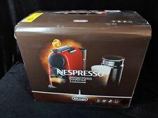 Nespresso DeLonghi Essenza Mini Espresso Machine Black w/ Frother NEW! EN85BAE