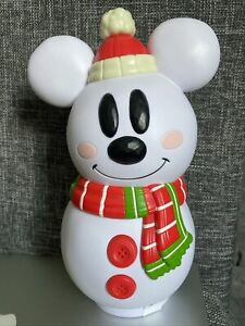 Boîte À Bonbon Bonhomme De Neige Disneyland Paris Noel  Disney Mickey