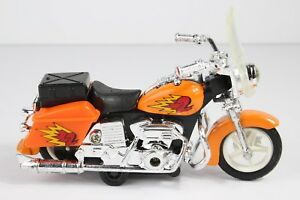 Vintage Motorcycle Rare Toy Harley Davidson Pull Back 5'' Collection 1:20
