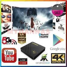 Arabic English Sports Africa 5G WIFI 10.0 Android TV YouTube 4GB / 64GB Box