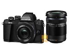 NEW Olympus OM-D E-M10 Mark II EM10 II Camera + EZ 14-42mm and 40-150mm Lens Kit