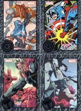 Marvel Universe 2014; Upper Deck; Silver Foil x4; Marvel Greatest Battles +Bonus