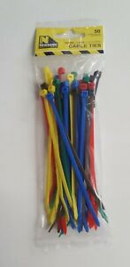 140MMX3.6MM COLOURED CABLE TIES